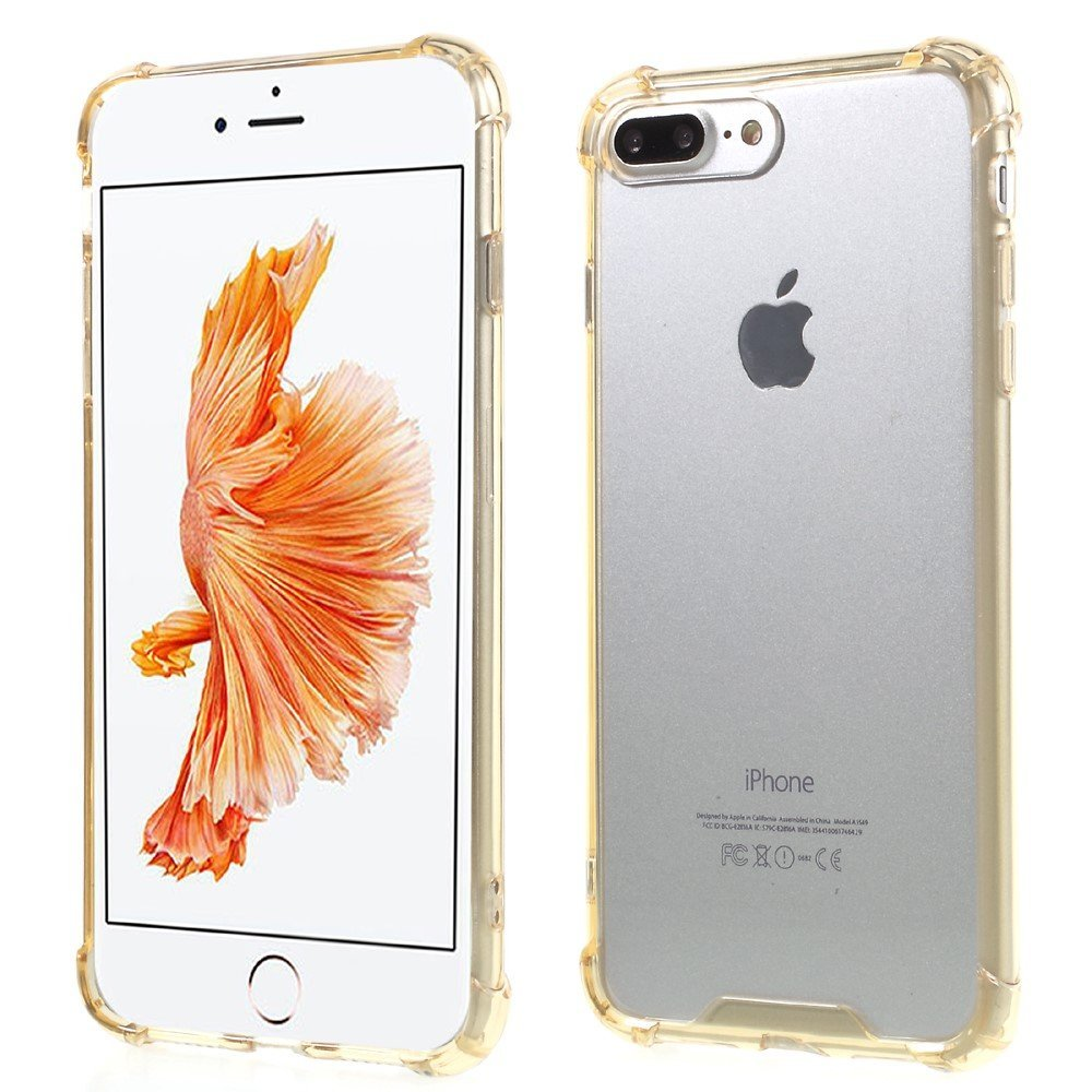 Billede af Apple iPhone 7/8 Plus TPU Drop-proof Cover - Guld