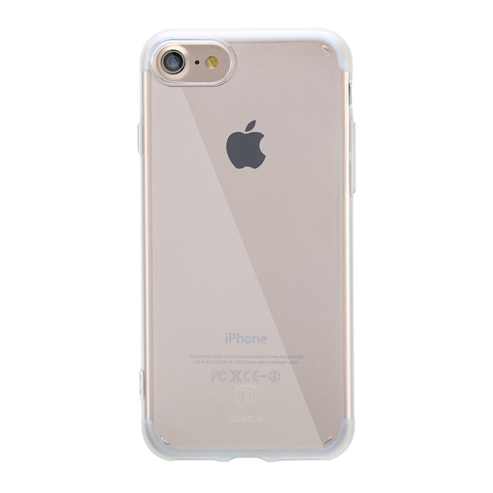 Billede af Apple iPhone 7/8 InCover TPU Transparent Cover - Hvid