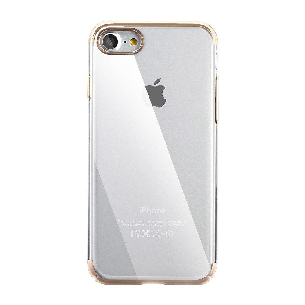 Billede af Apple iPhone 7/8 BASEUS Plastik Cover - Guld