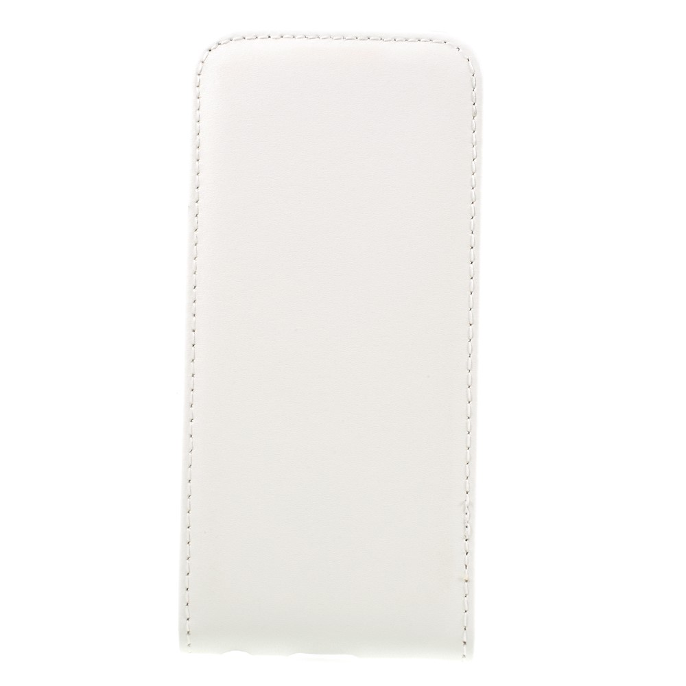 Image of   Apple iPhone 7 PU læder Vertikal FlipCover - Hvid