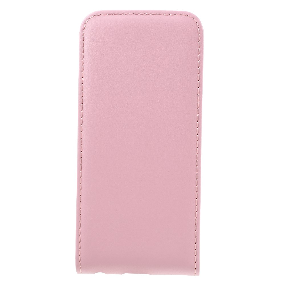 Image of   Apple iPhone 7 PU læder Vertikal FlipCover - Pink