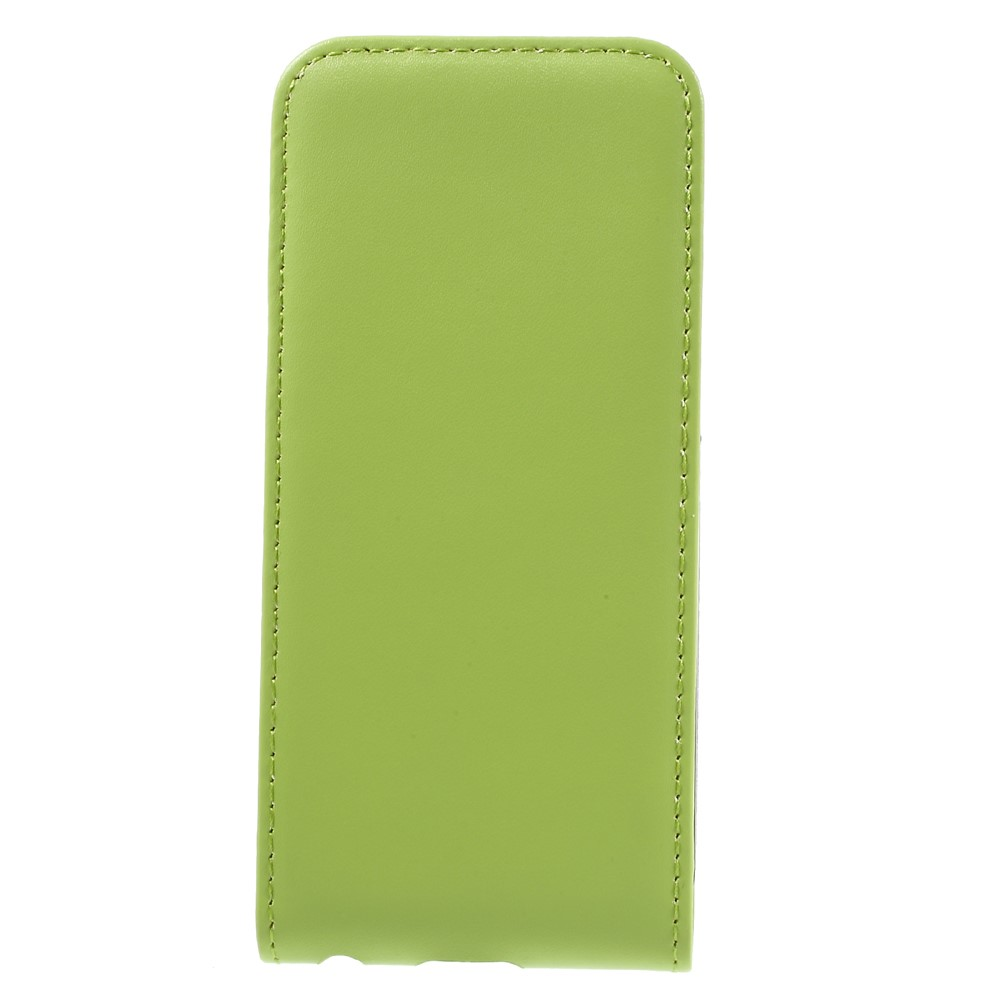 Image of   Apple iPhone 7 PU læder Vertikal FlipCover - Grøn