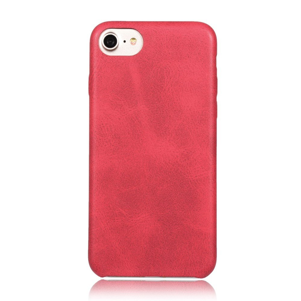 Image of   Apple iPhone 7/8 PU læder Cover - Rød