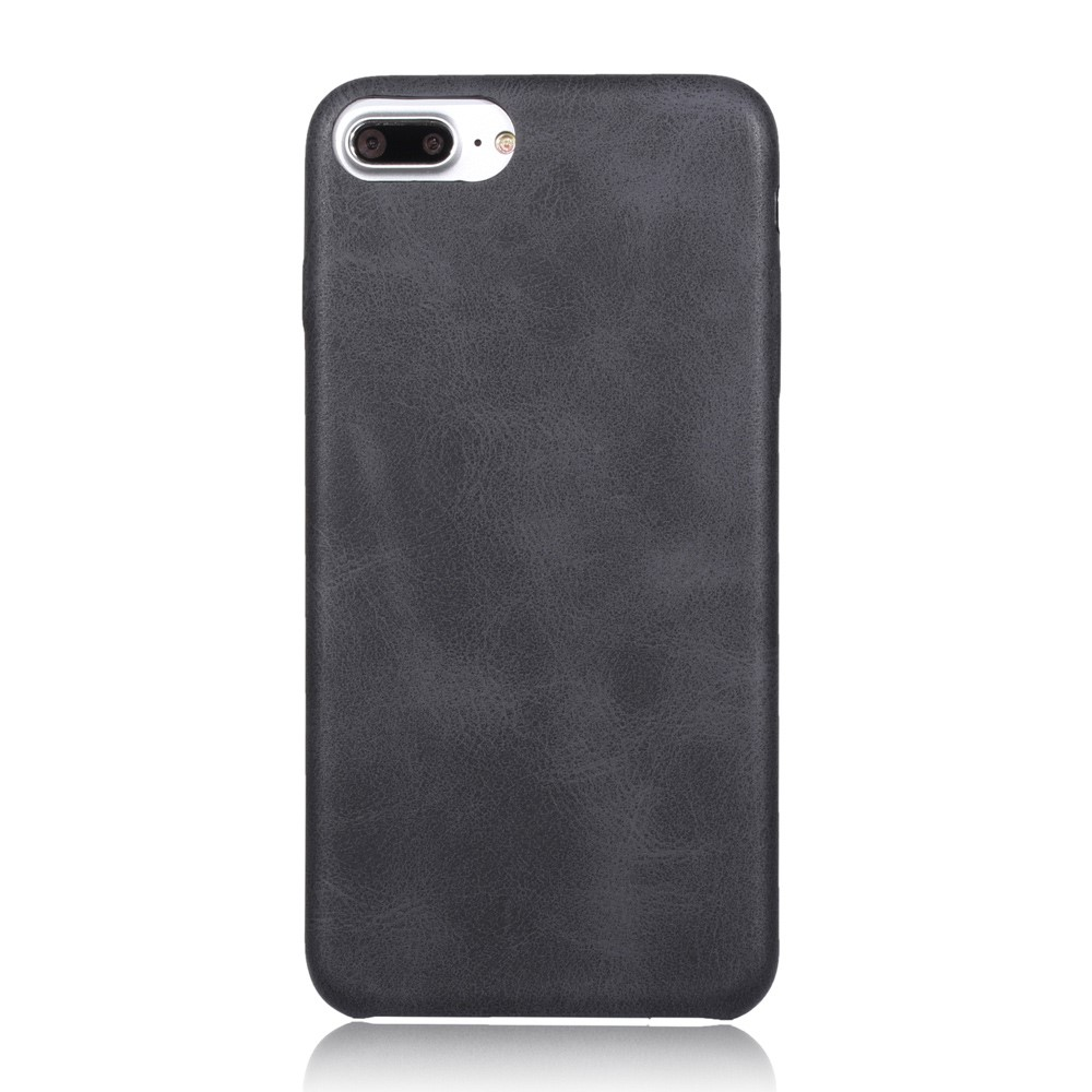 Image of   Apple iPhone 7/8 Plus InCover PU læder Cover - Sort