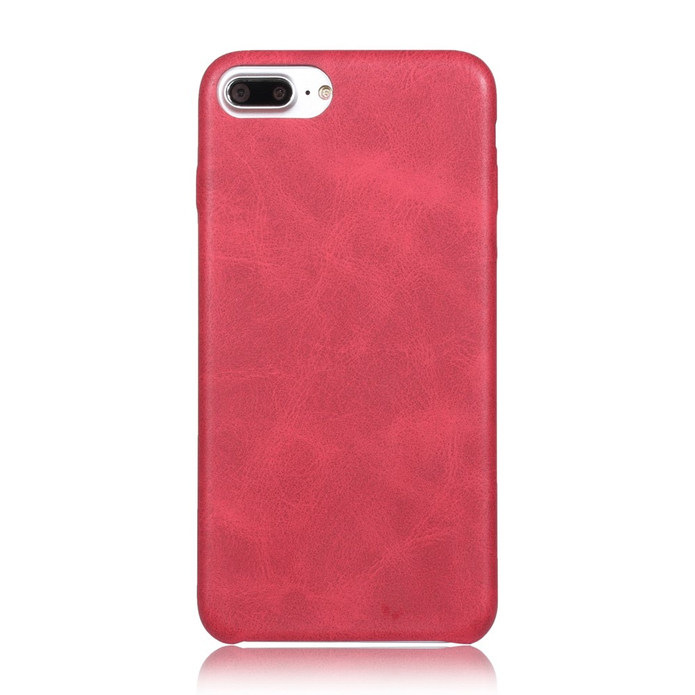Image of   Apple iPhone 7/8 Plus InCover PU læder Cover - Rød