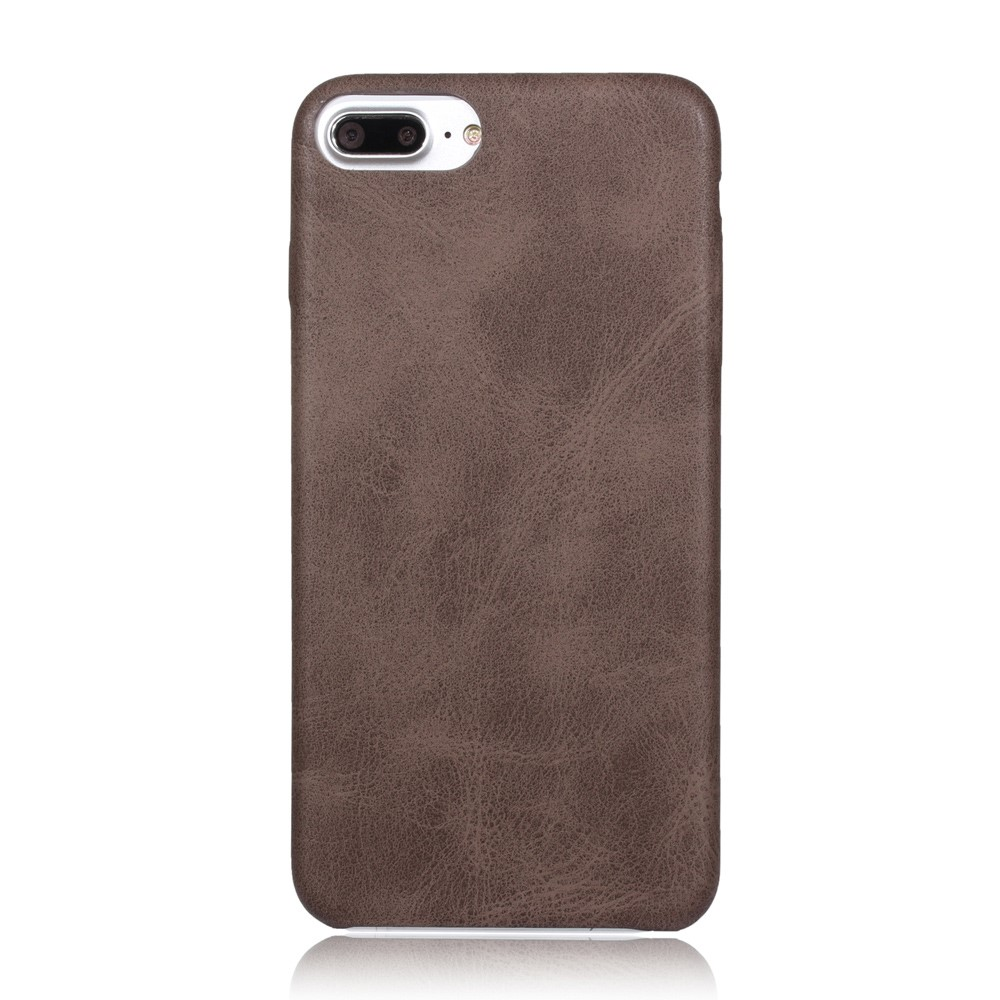 Billede af Apple iPhone 7/8 Plus InCover PU læder Cover - Coffee