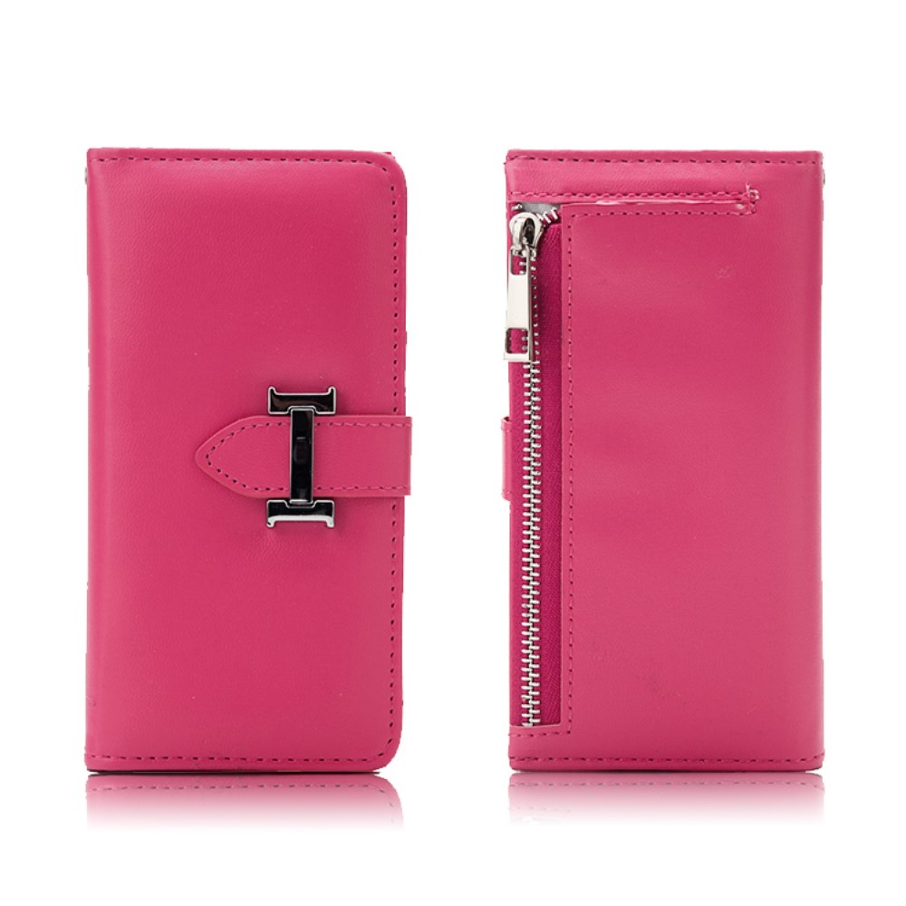 Image of Apple iPhone 7/8 2 i 1 Deluxe Flip Cover Pung - Rosa