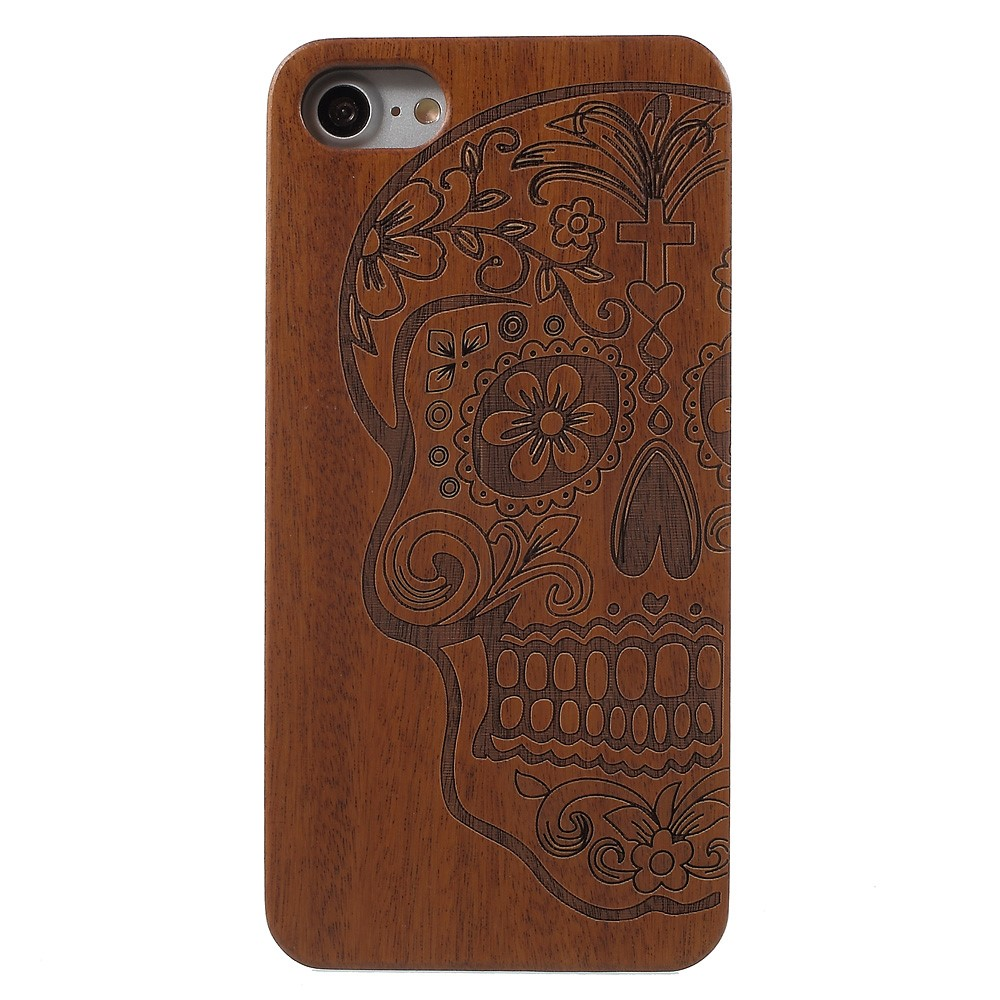 Image of   Apple iPhone 7/8 TræCover m. Design - Skull