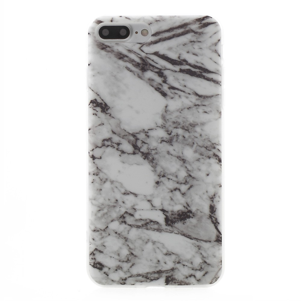 Billede af Apple iPhone 7/8 Plus InCover Marmor TPU Cover - Grå