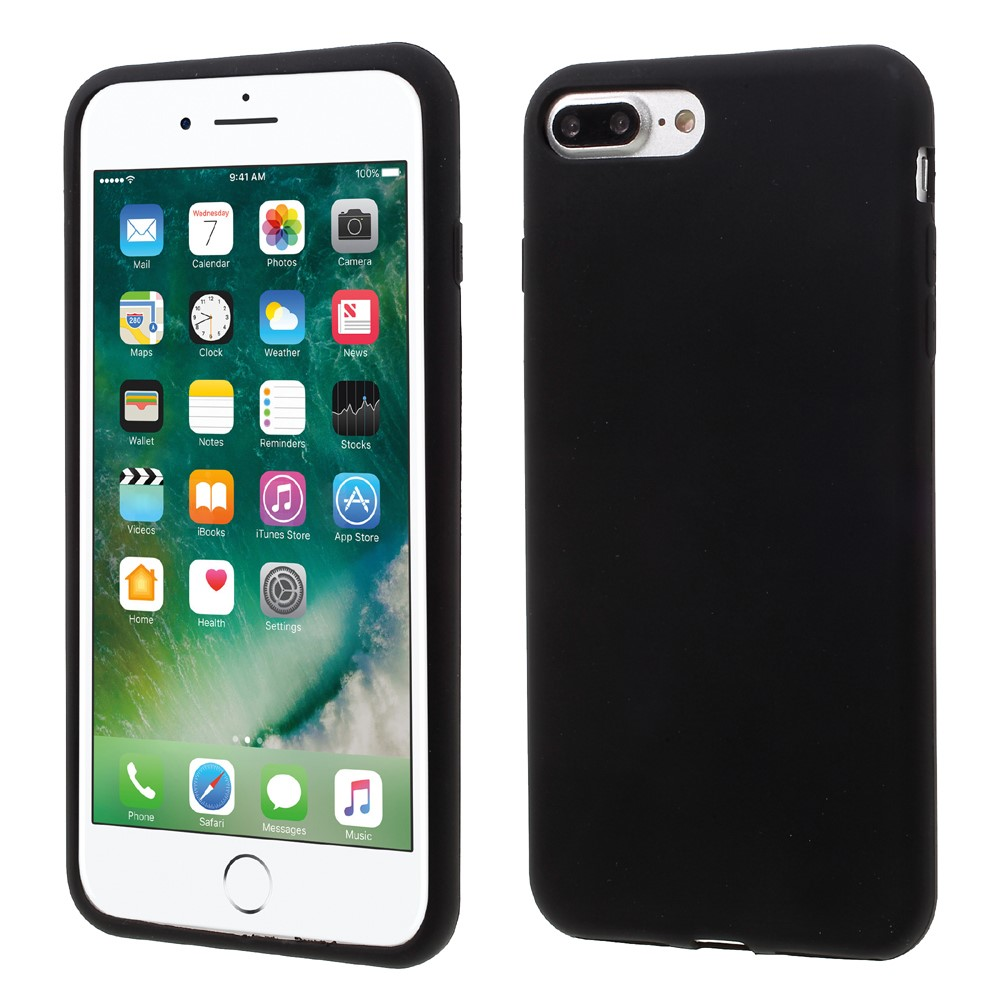 Billede af Apple iPhone 7/8 Plus InCover Silikone Cover - Sort
