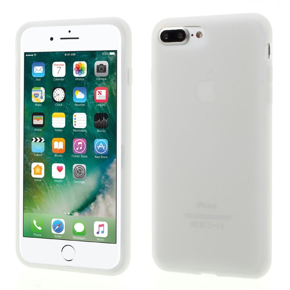 Billede af Apple iPhone 7/8 Plus InCover Silikone Cover - Hvid