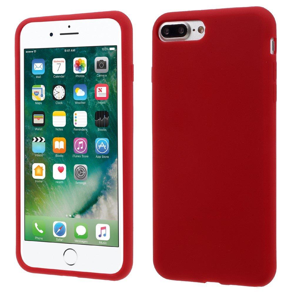 Billede af Apple iPhone 7/8 Plus InCover Silikone Cover - Rød