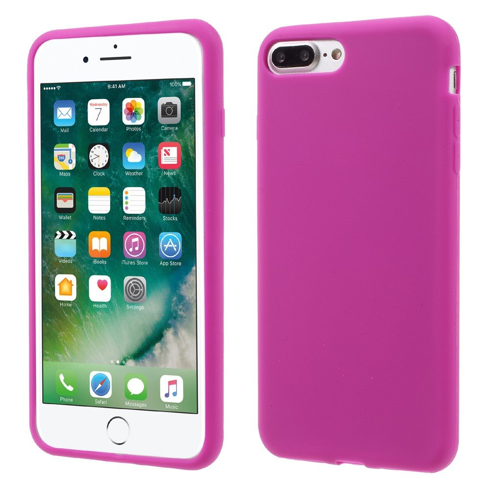 Billede af Apple iPhone 7/8 Plus InCover Silikone Cover - Rosa