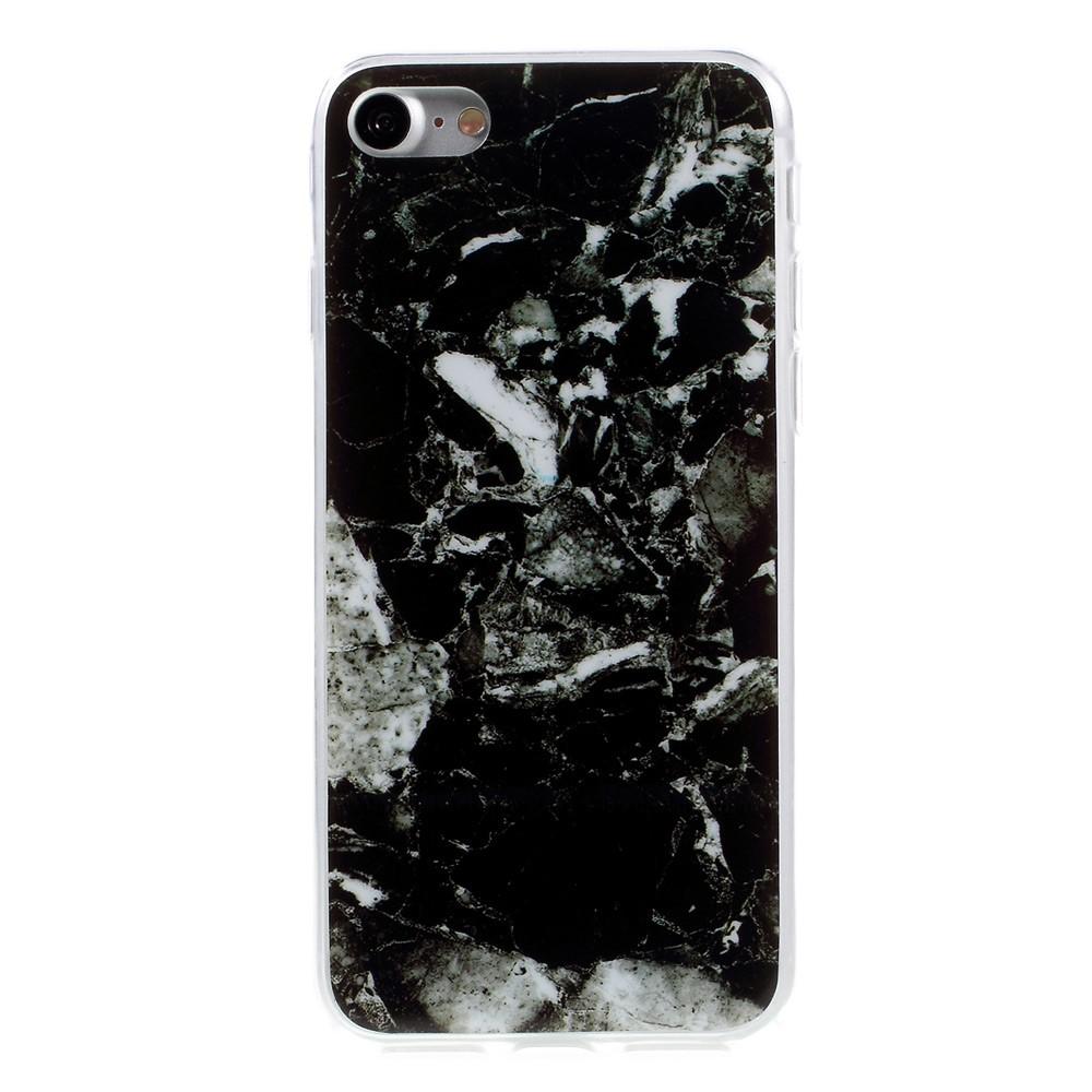 Billede af Apple iPhone 7/8 InCover Marmor TPU Cover - Mørk blå