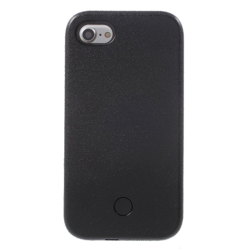 Apple iPhone 7/8 Selfie Cover m. Lys - Sort