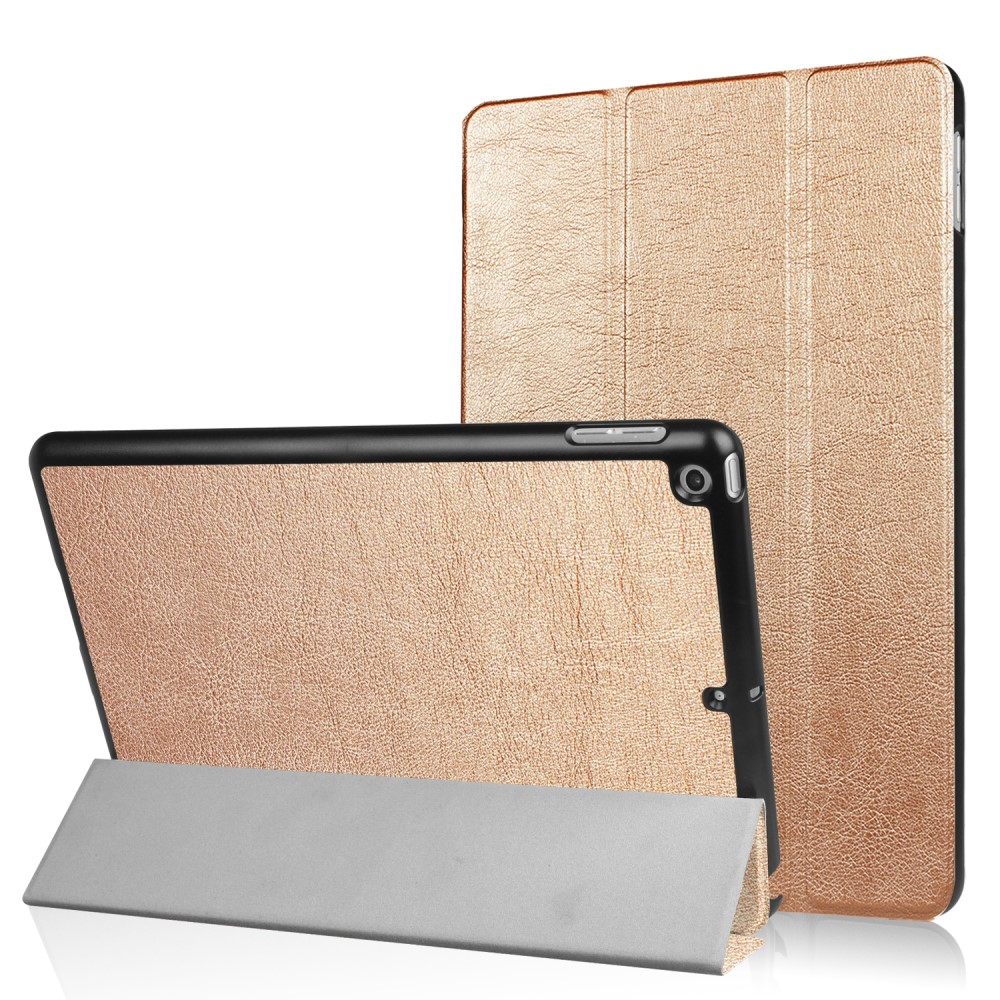 Image of   Apple iPad 9.7 2017/2018 Læder Cover m. Stand - Guld