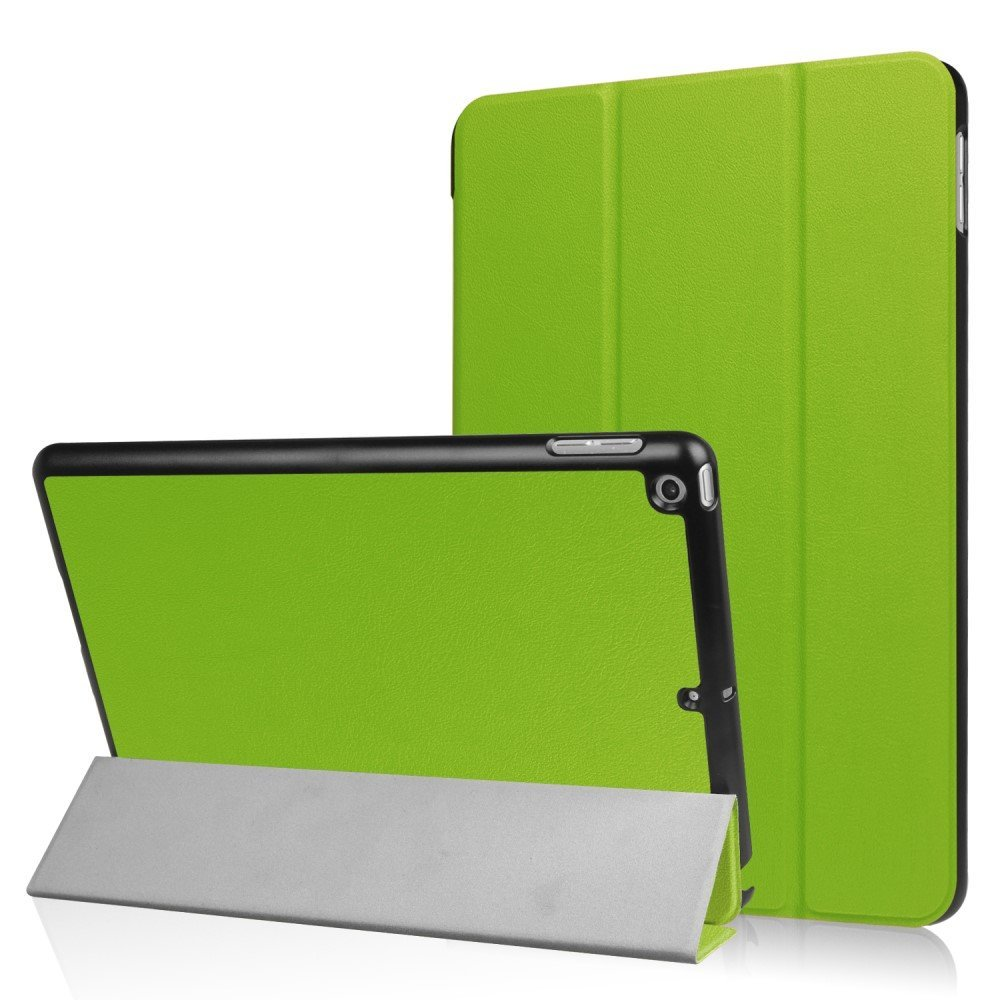 Image of   Apple iPad 9.7 2017/2018 Læder Cover m. Stand - Grøn