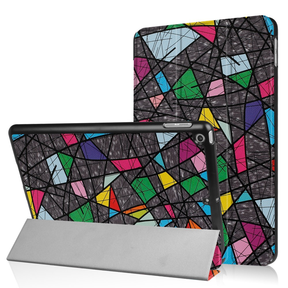 Billede af Apple iPad 9.7 2017/2018 Smart Cover m. Stand - Geometric Pattern