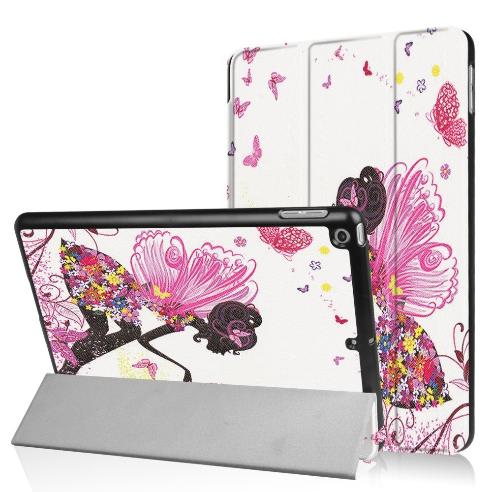 Billede af Apple iPad 9.7 2017/2018 Smart Cover m. Stand - Flowered Fairy