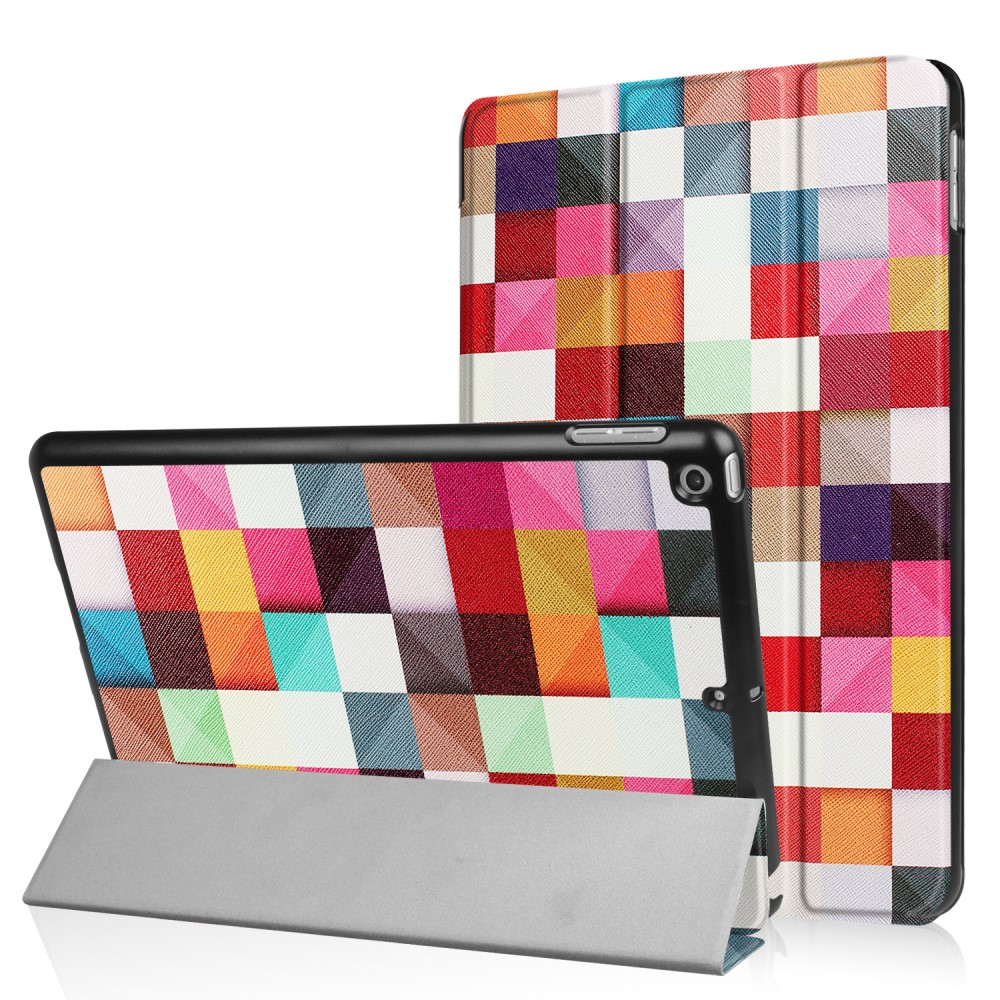 Billede af Apple iPad 9.7 2017/2018 Smart Cover m. Stand - Colorful Cheakers