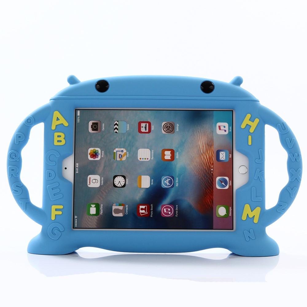 Image of   Apple iPad 9.7 2017/2018 Silikone Cover til Børn - Blå
