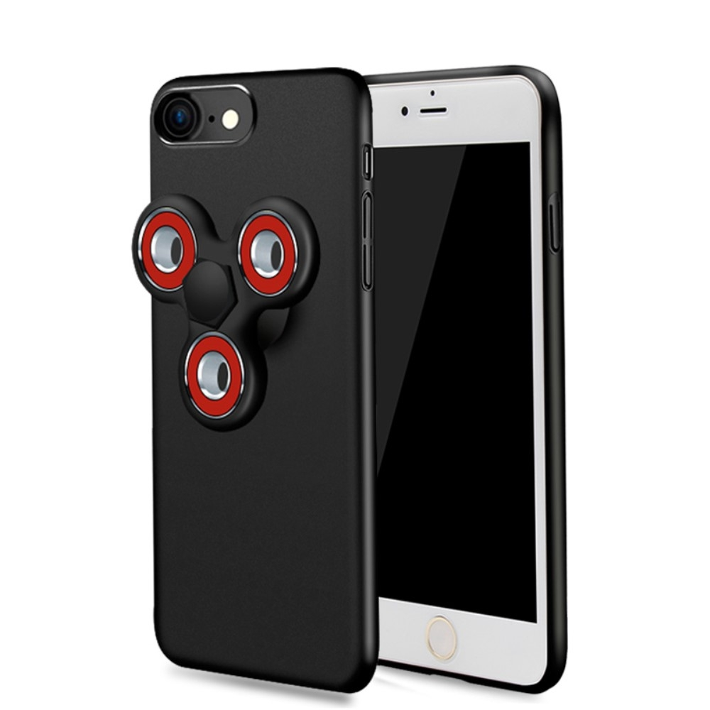 Image of   Apple iPhone 7/8 Fidget Spinner Cover - Sort