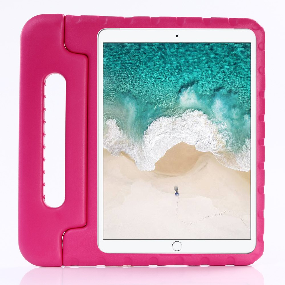"Image of   Apple iPad 10.2"" (2019) / iPad Pro 10.5 / iPad Air (2019) Børnecover - Stødsikkert Cover m. Stand - Pink"