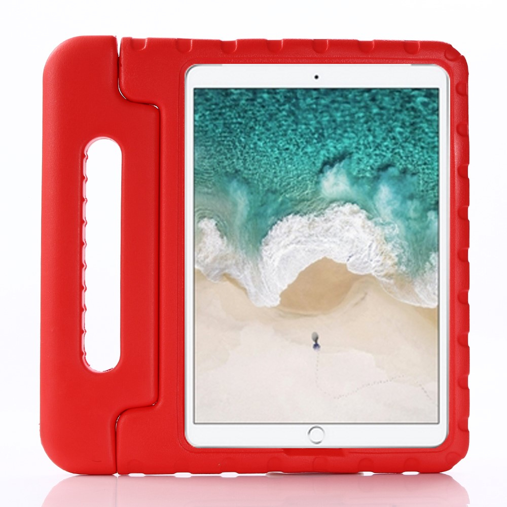 "Image of   Apple iPad 10.2"" (2019) / iPad Pro 10.5 / iPad Air (2019) Børnecover - Stødsikkert Cover m. Stand - Rød"