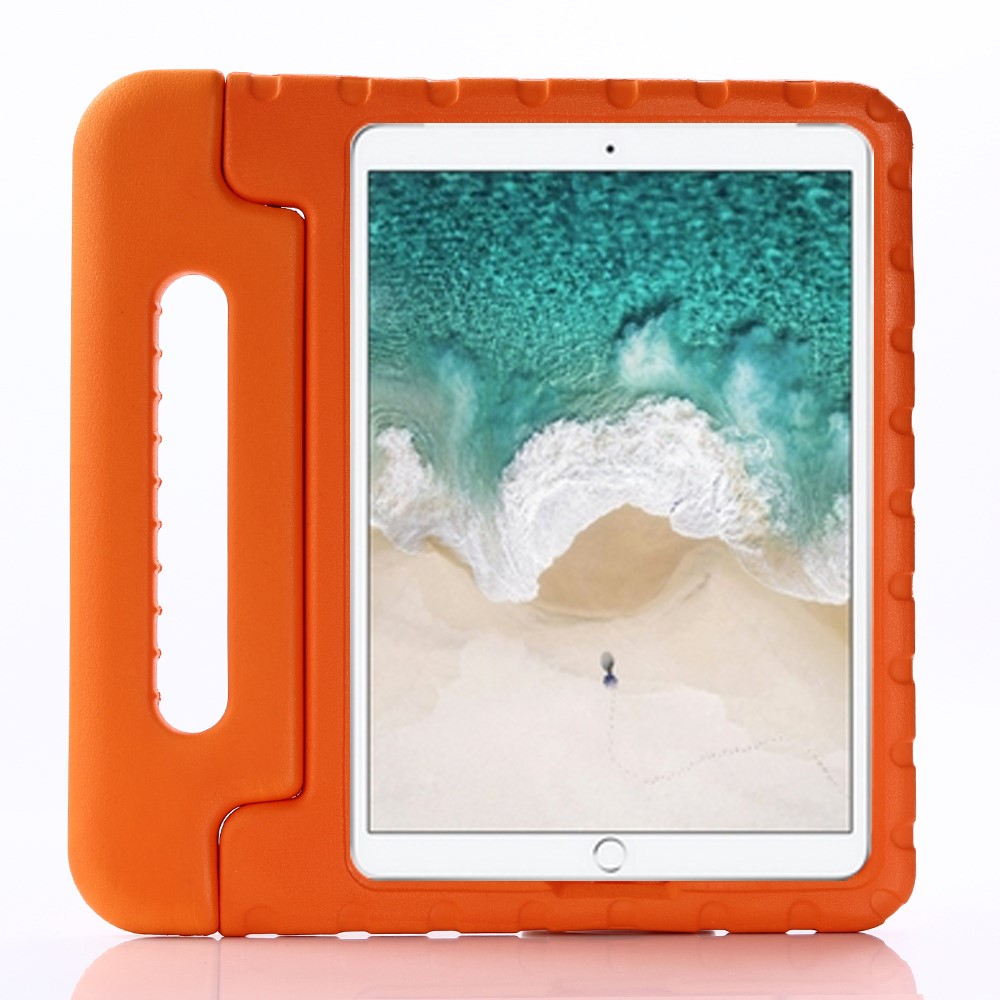 "Image of   Apple iPad 10.2"" (2019) / iPad Pro 10.5 / iPad Air (2019) Børnecover - Stødsikkert Cover m. Stand - Orange"