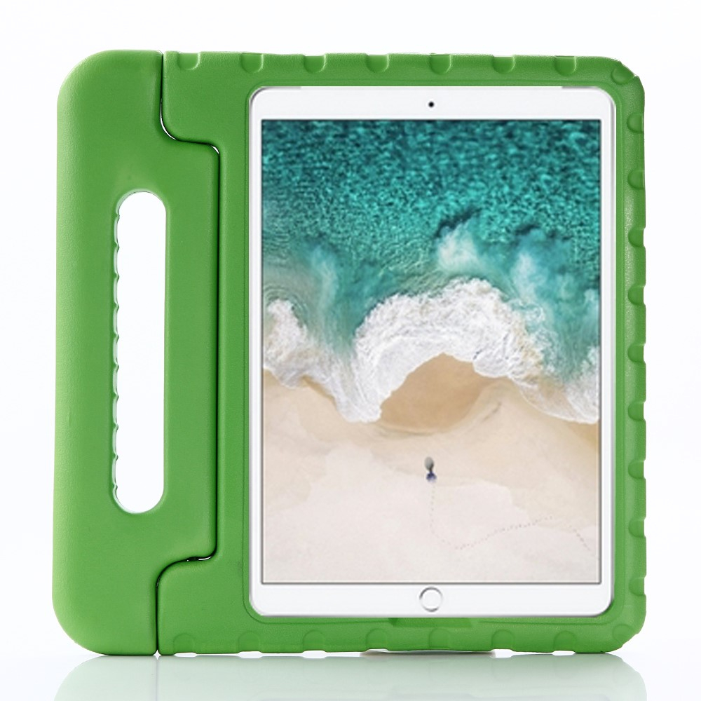 "Image of   Apple iPad 10.2"" (2019) / iPad Pro 10.5 / iPad Air (2019) Børnecover - Stødsikkert Cover m. Stand - Grøn"