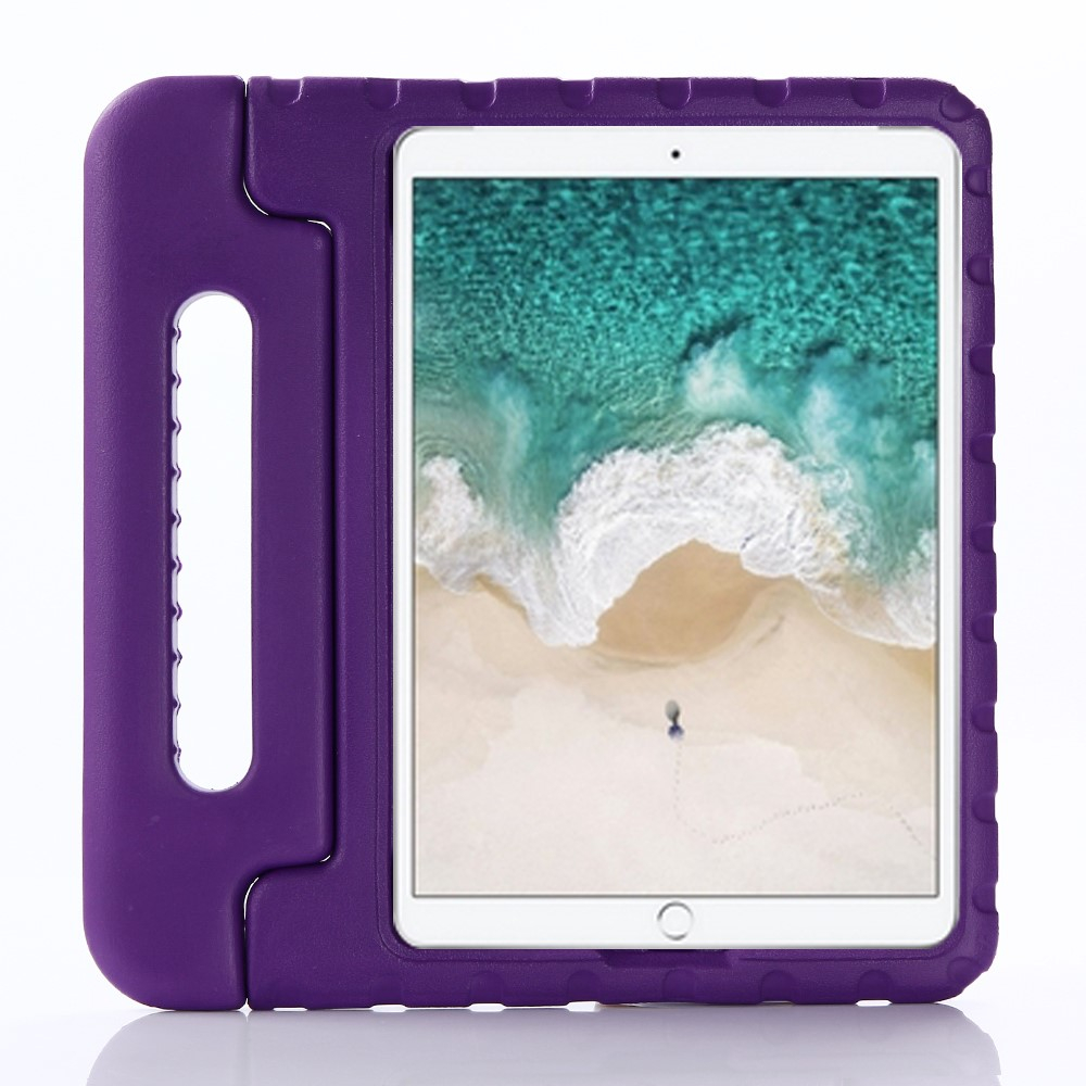 "Image of   Apple iPad 10.2"" (2019) / iPad Pro 10.5 / iPad Air (2019) Børnecover - Stødsikkert Cover m. Stand - Lilla"