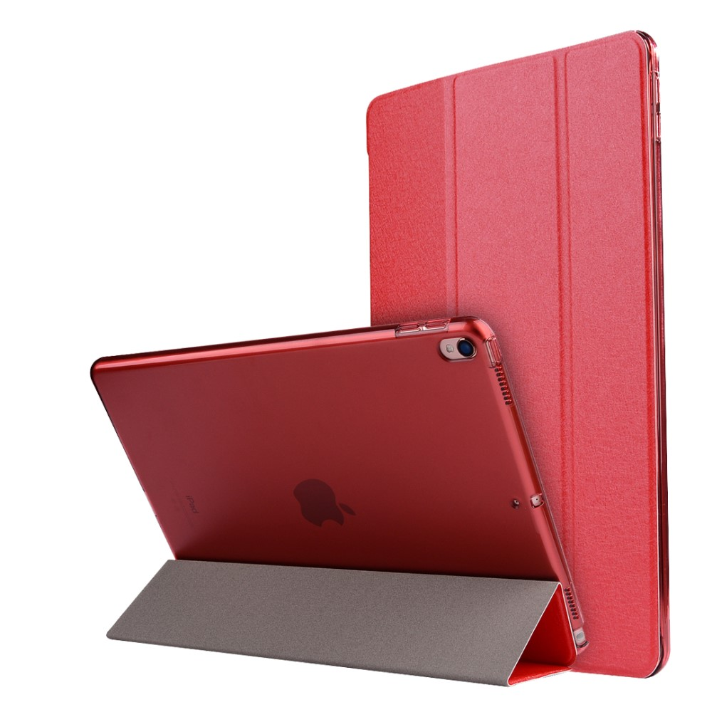 Image of   Apple iPad Air 2019 / iPad Pro 10.5 PU læder Flipcover m. Stand - Rød