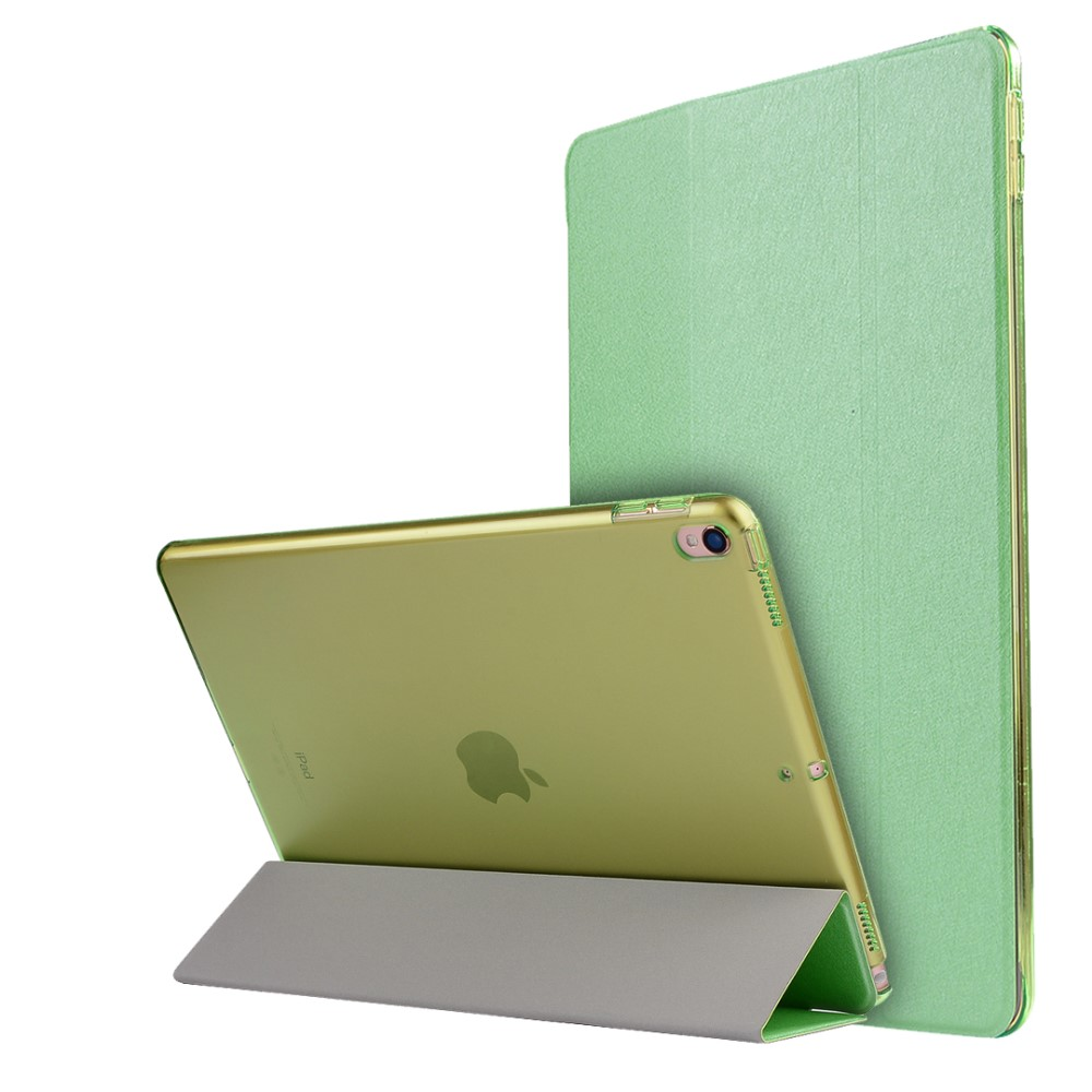 Image of   Apple iPad Air 2019 / iPad Pro 10.5 PU læder Flipcover m. Stand - Grøn