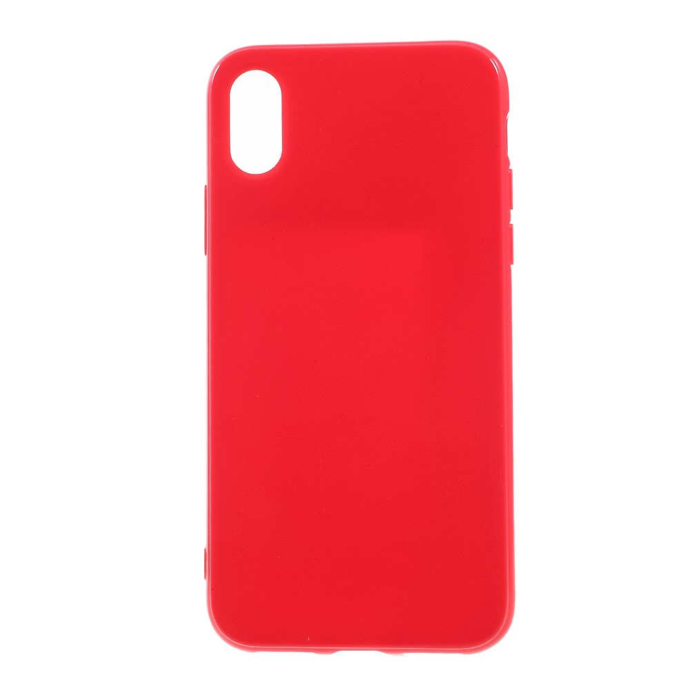 Image of   Apple iPhone X/XS TPU Cover - Rød