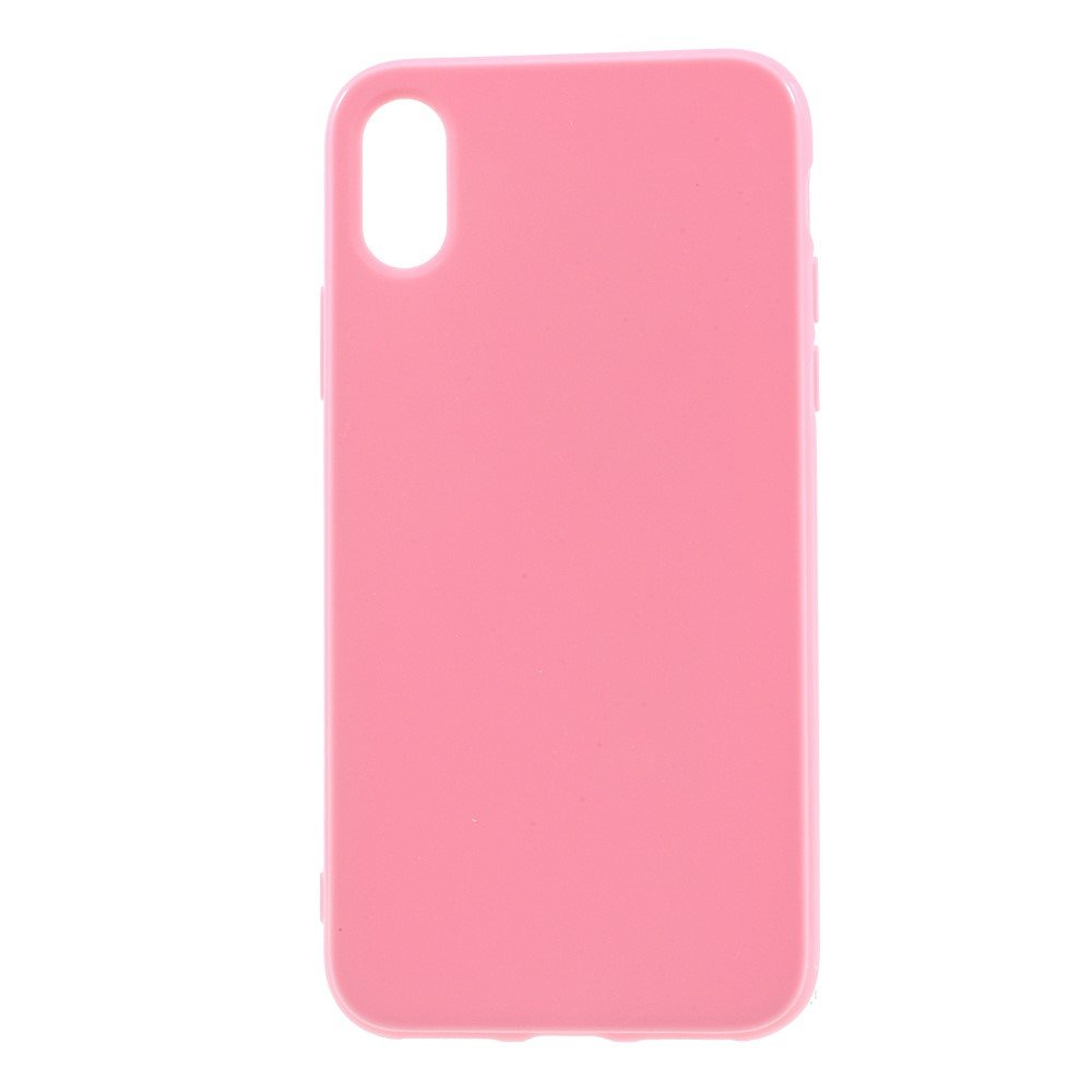 Image of   Apple iPhone X/XS TPU Cover - Lyserød
