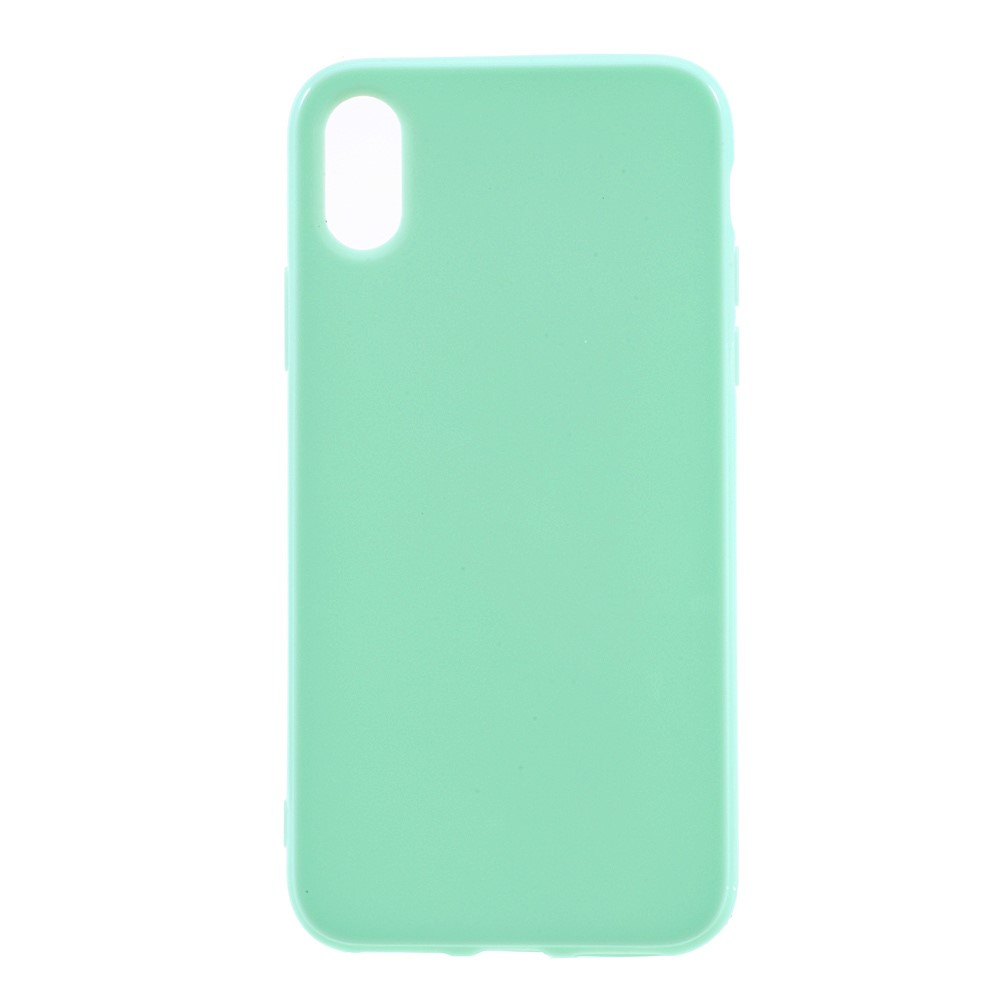 Image of   Apple iPhone X/XS TPU Cover - Grøn
