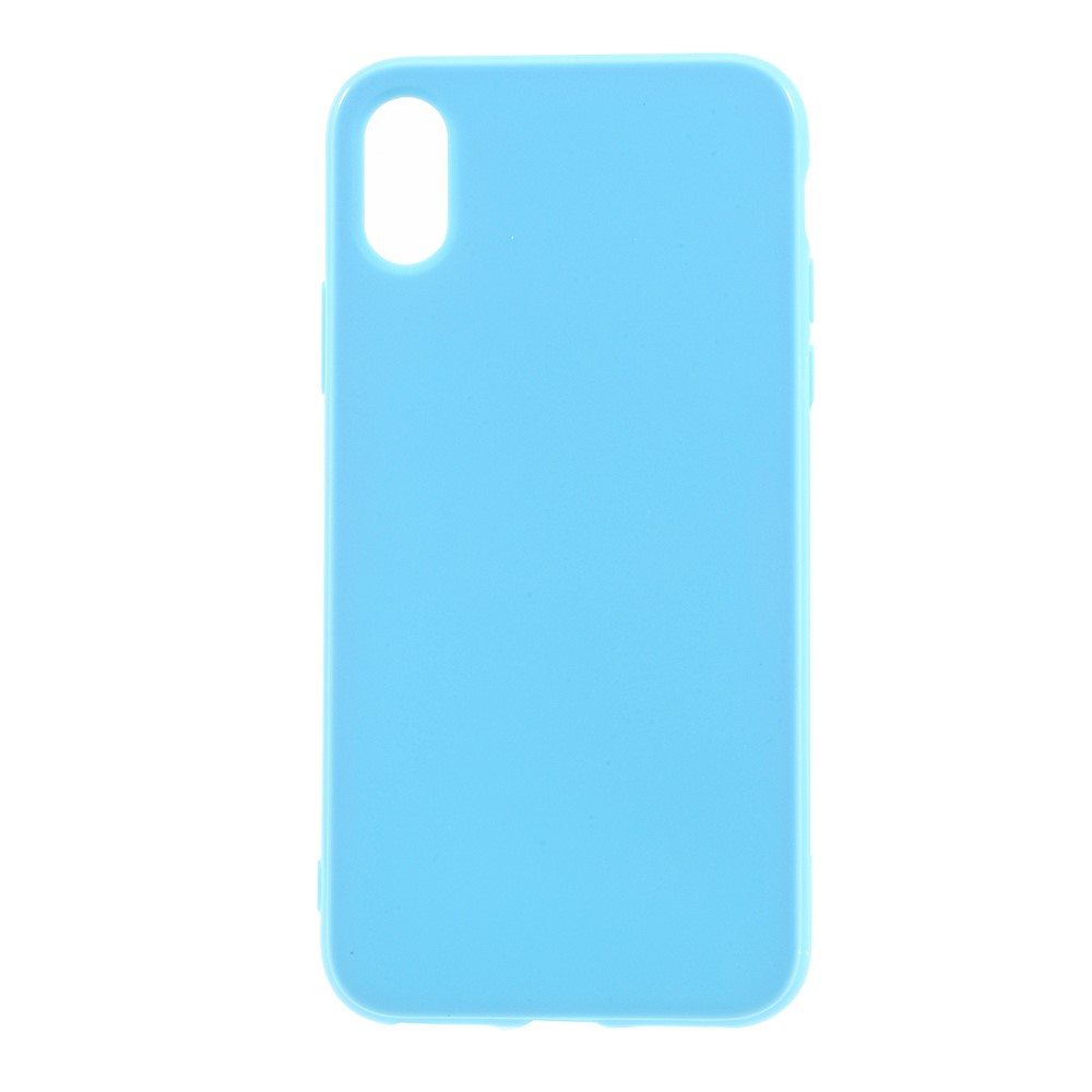Image of   Apple iPhone X/XS TPU Cover - Lys blå