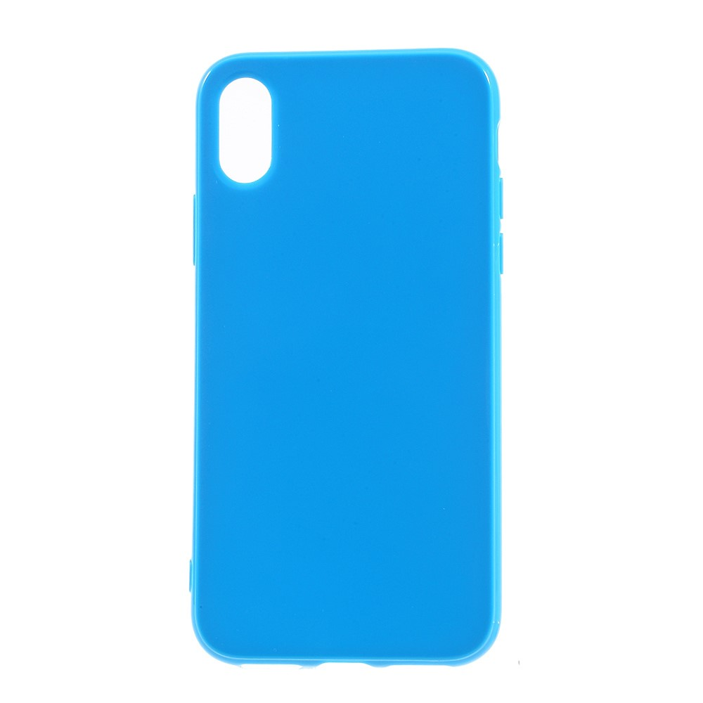 Image of   Apple iPhone X/XS TPU Cover - Mørk blå
