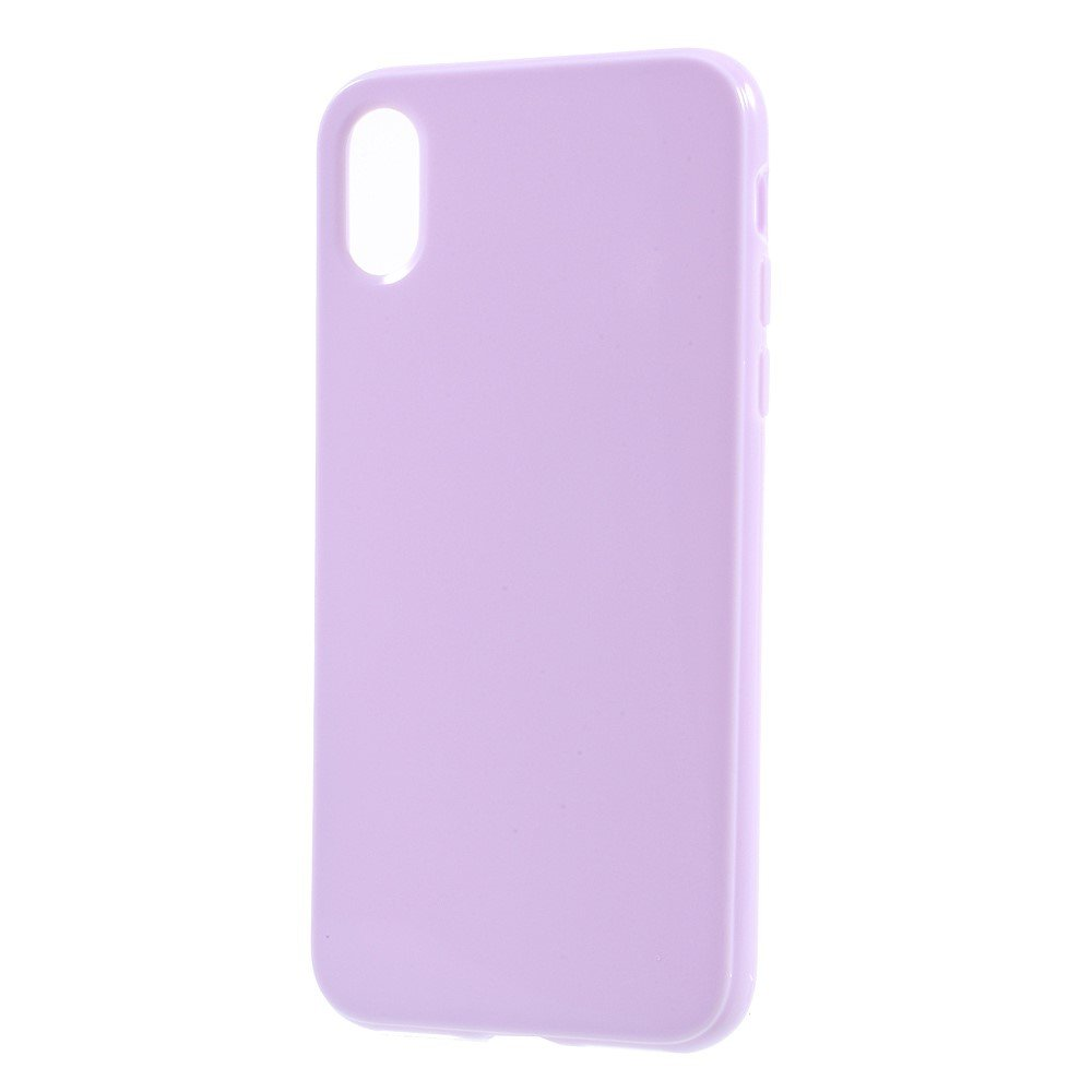 Image of   Apple iPhone X/XS TPU Cover - Lys lilla