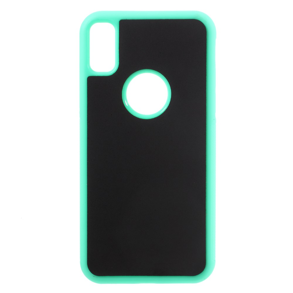 Image of   Apple iPhone X/XS Anti-Gravity TPU Cover - Grøn/æble