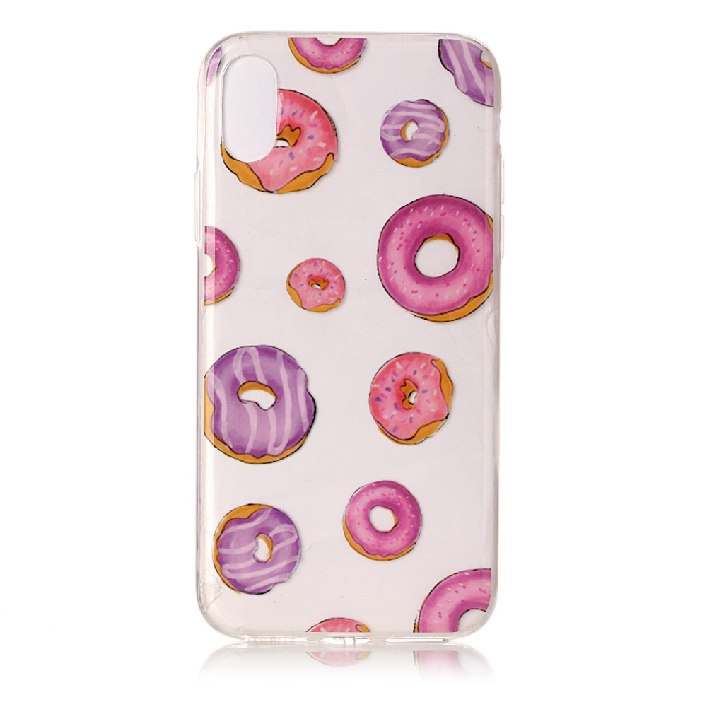 Image of   Apple iPhone X/XS TPU Cover - Doughnuts