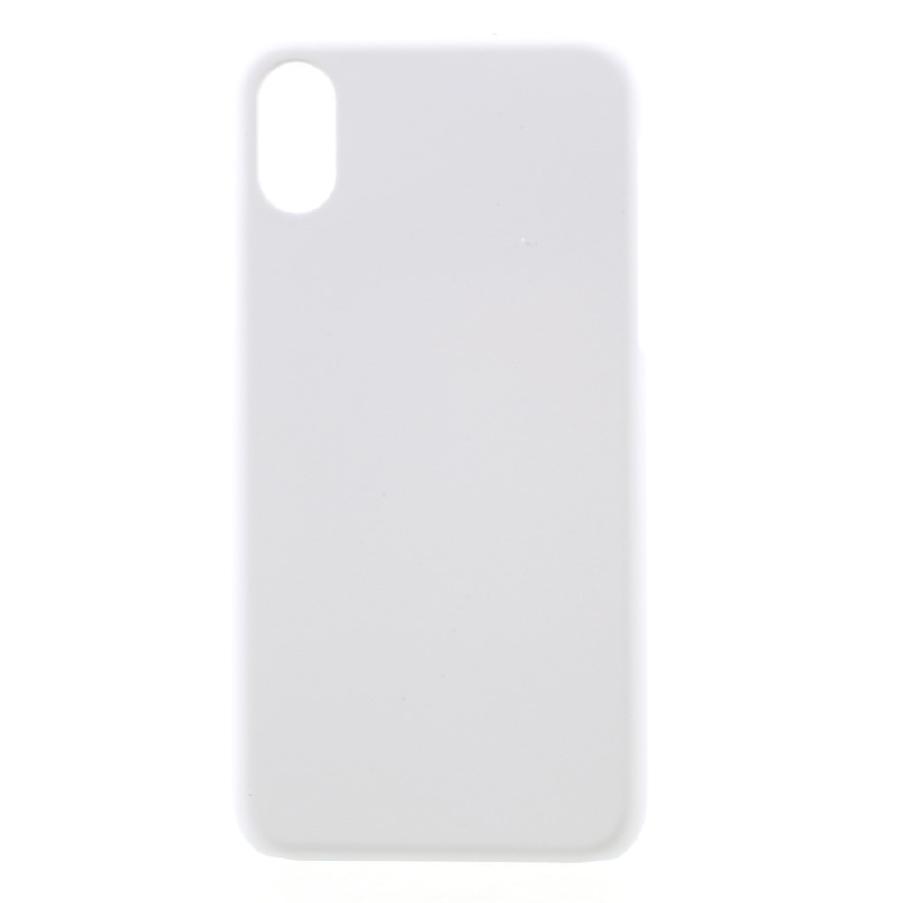 Image of   Apple iPhone X/XS Plastik Cover - Hvid