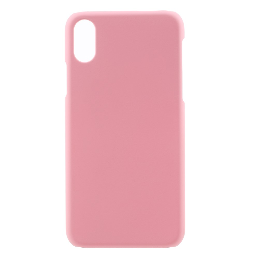 Image of   Apple iPhone X/XS Plastik Cover - Lyserød