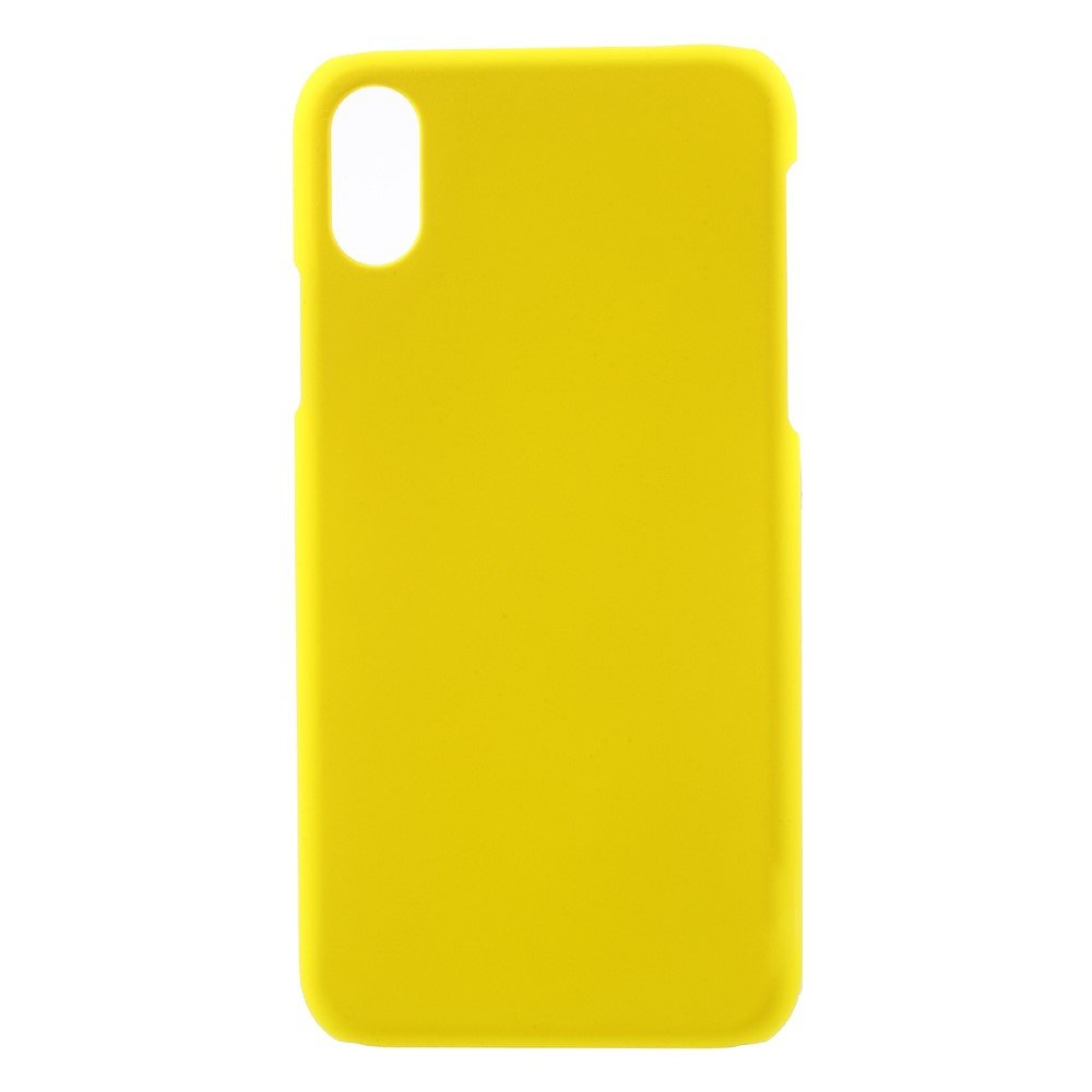 Image of   Apple iPhone X/XS Plastik Cover - Gul