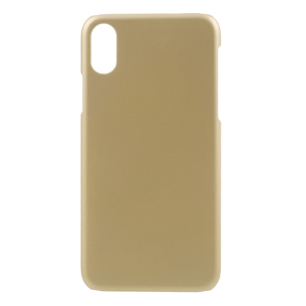Image of   Apple iPhone X/XS Plastik Cover - Guld