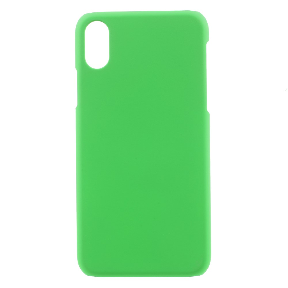 Image of   Apple iPhone X/XS Plastik Cover - Grøn