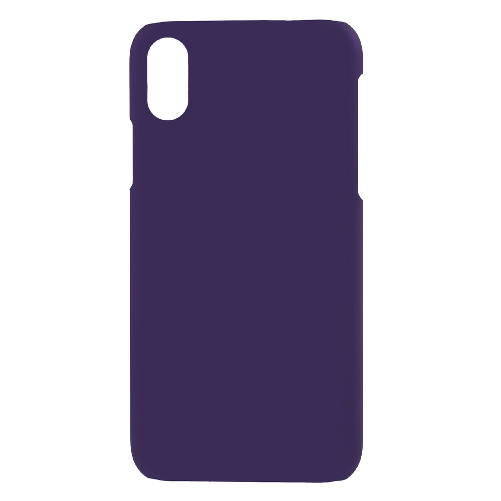 Image of   Apple iPhone X/XS Plastik Cover - Lilla