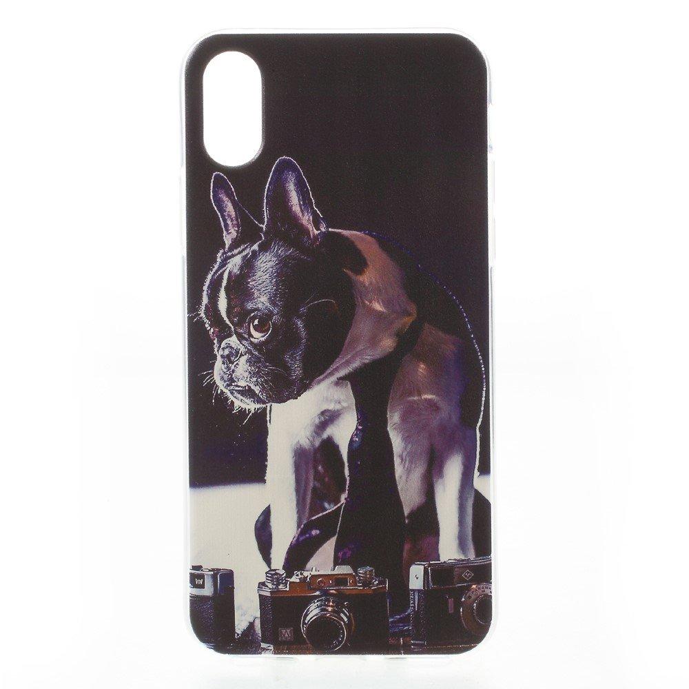 Apple iPhone X inCover TPU UV Print Cover - Hund
