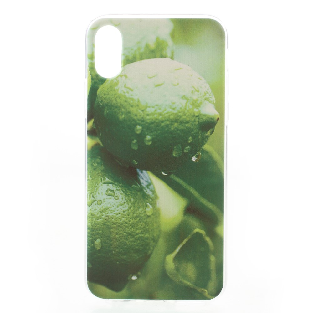 Apple iPhone X inCover TPU UV Print Cover - Citroner