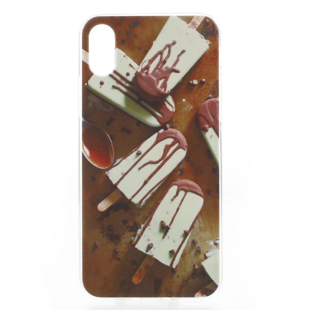 Apple iPhone X inCover TPU UV Print Cover - Chokoladeis